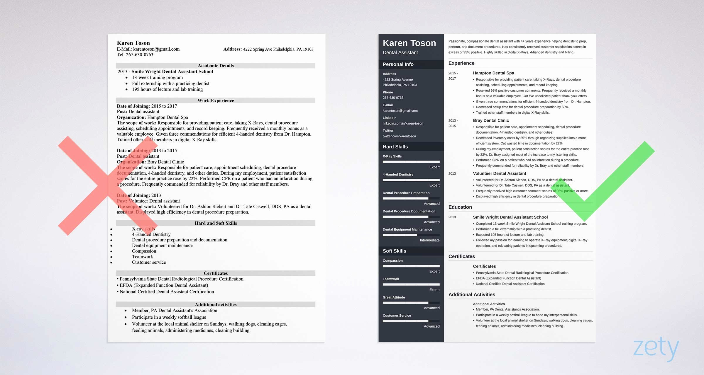 1 Page Resume Template Beautiful E Page Resume Templates 15 Examples to Download and Use now