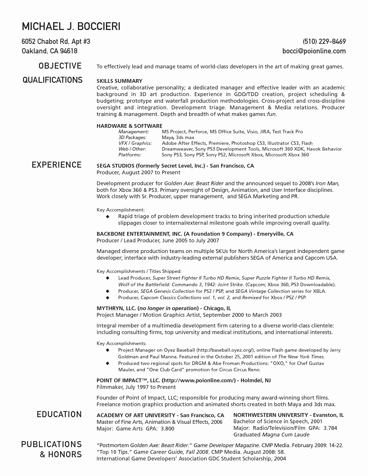 1 Page Resume Template Lovely E Page Resume Template