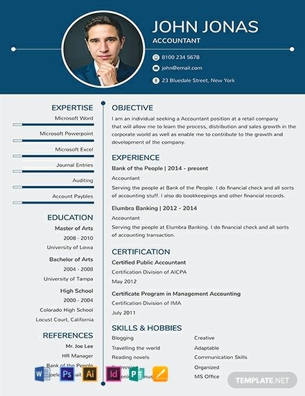 1 Page Resume Template New 91 Free E Page Resume Templates Word Psd