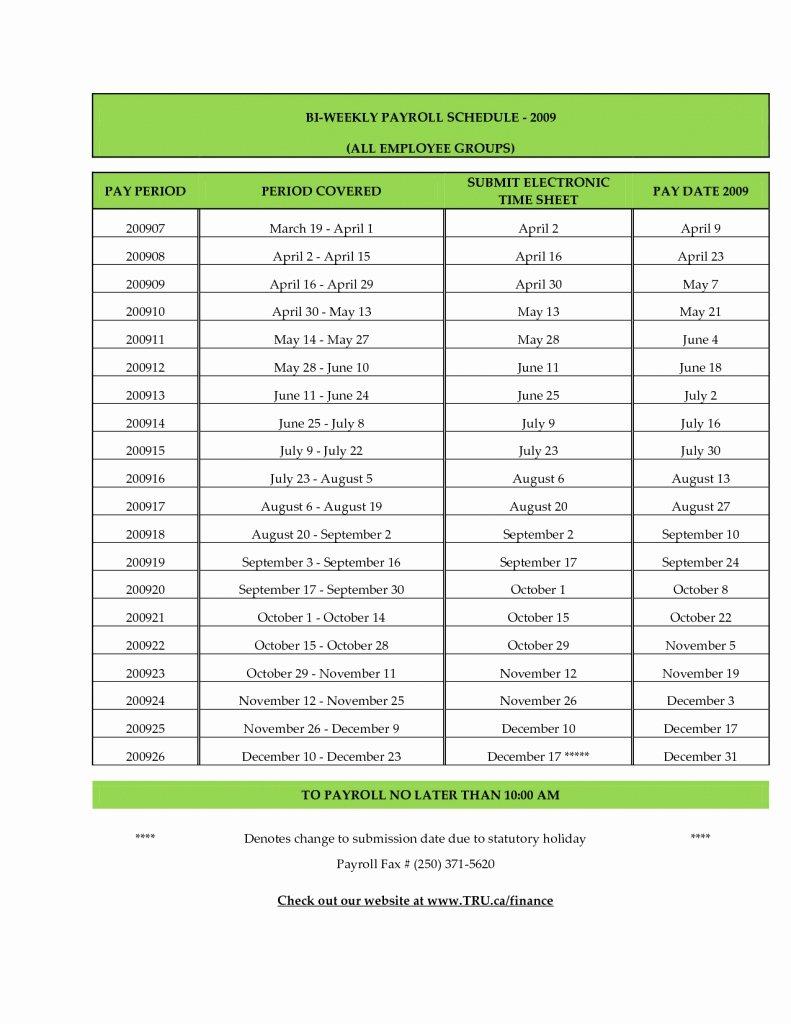 2019 Biweekly Payroll Calendar Template Fresh Adp 2016 Payroll Calendar Printable
