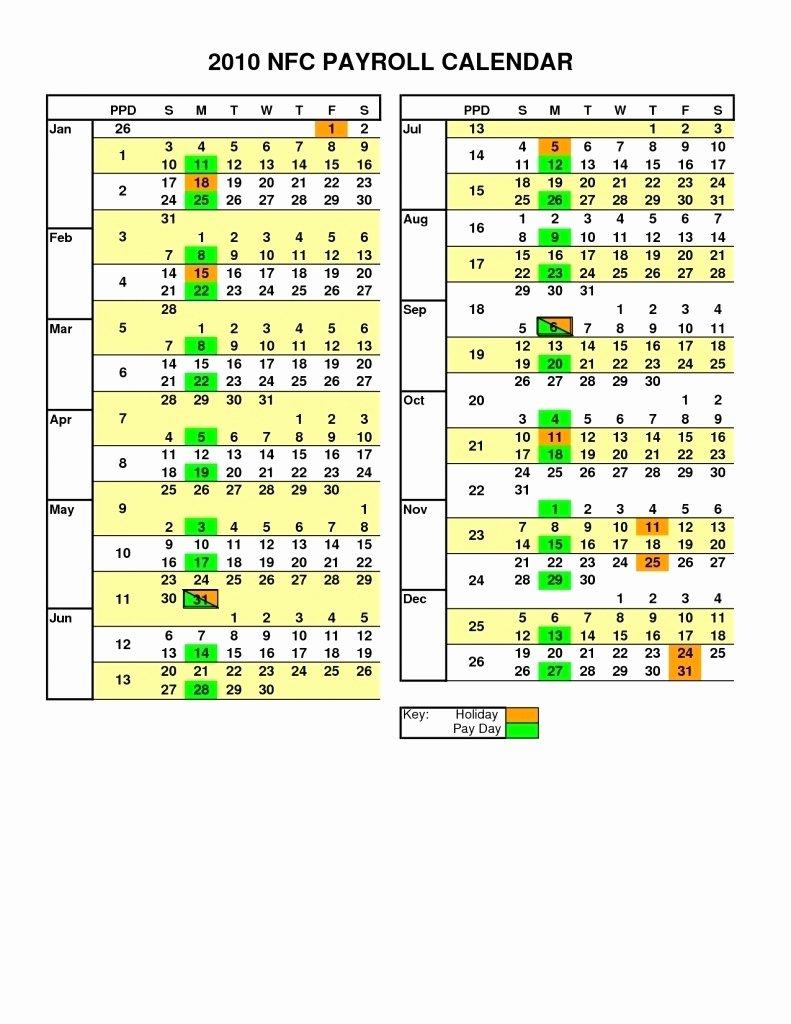 2019 Biweekly Payroll Calendar Template Inspirational Biweekly Payroll Calendar Template 2019