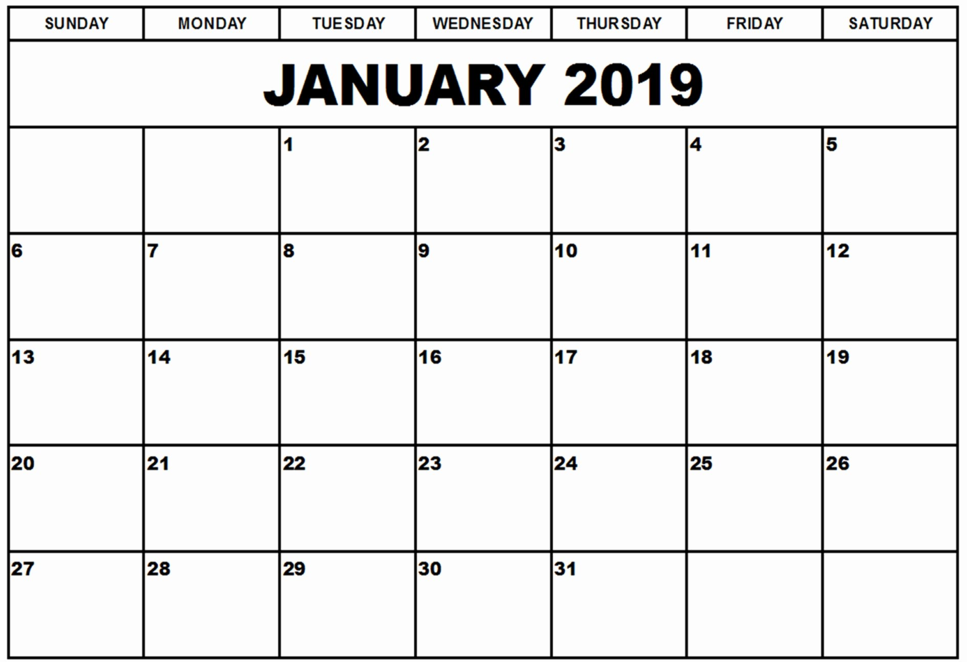 2019 Monthly Calendar Word Best Of January 2019 Calendar Kalnirnay Free Printable Word