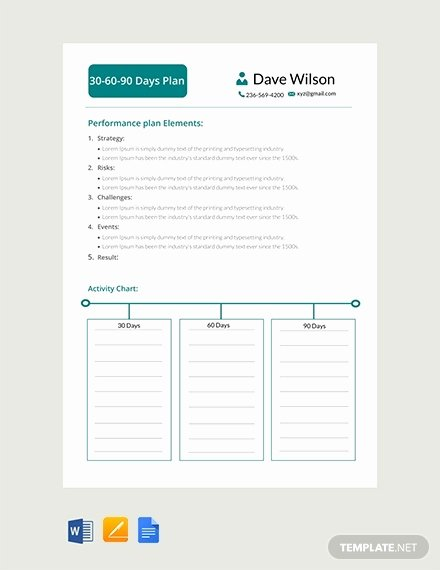 30 60 90 Plan Templates Awesome 12 30 60 90 Day Action Plan Templates Doc Pdf