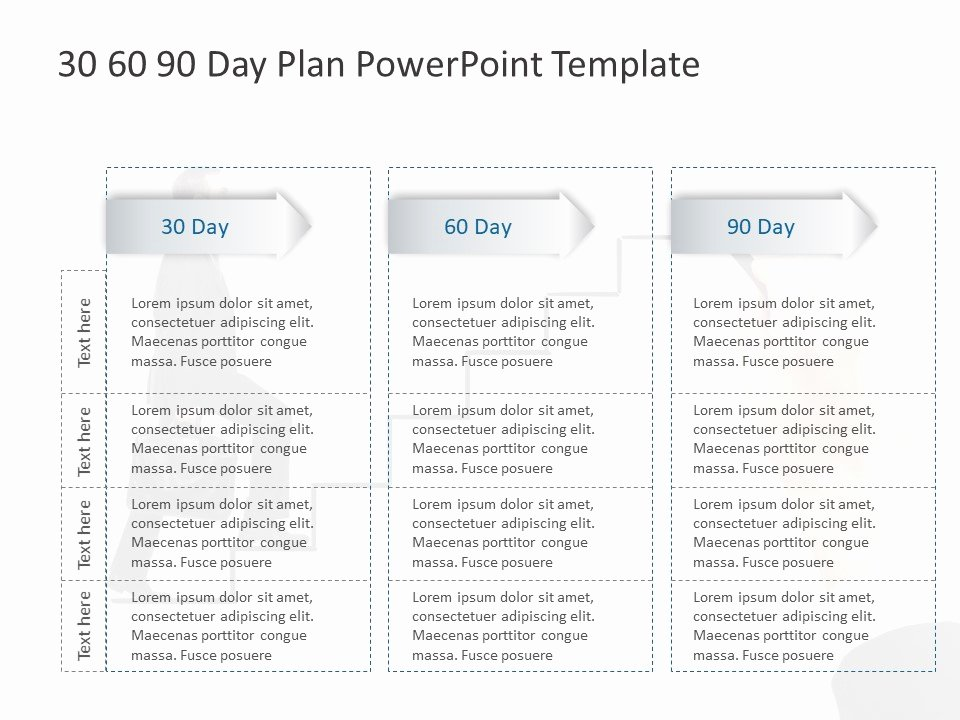 30 60 90 Plan Templates Lovely 30 60 90 Day Plan Powerpoint Template 14