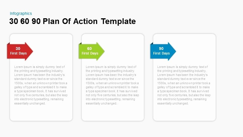 30 60 90 Plan Templates Luxury 30 60 90 Plan Action Powerpoint and Keynote Template