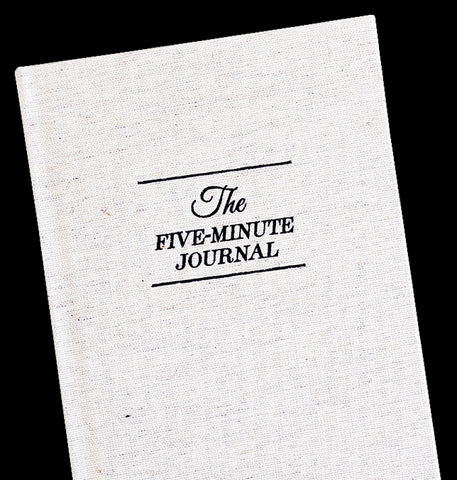 5 Minute Journal Pdf New the Five Minute Journal – Intelligent Change Inc