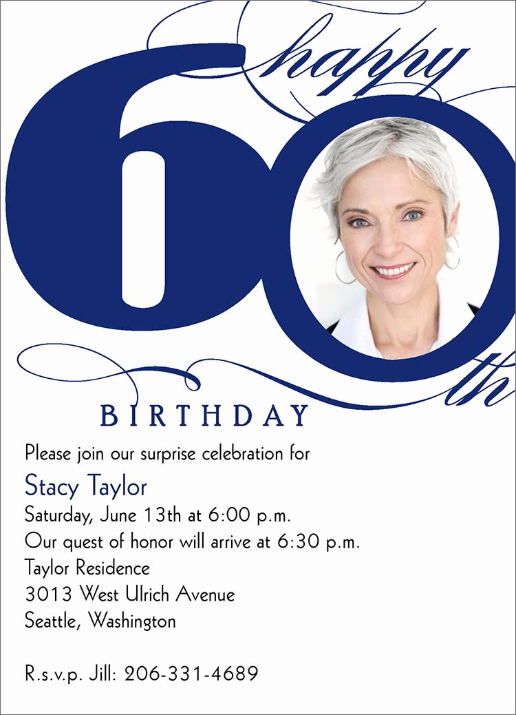 60 Th Birthday Invites Luxury Milestone 60th Birthday Invitations by Brookhollow