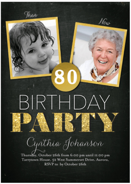 80th Birthday Party Invitations New 80th Birthday Invitations 30 Best Invites for An 80th