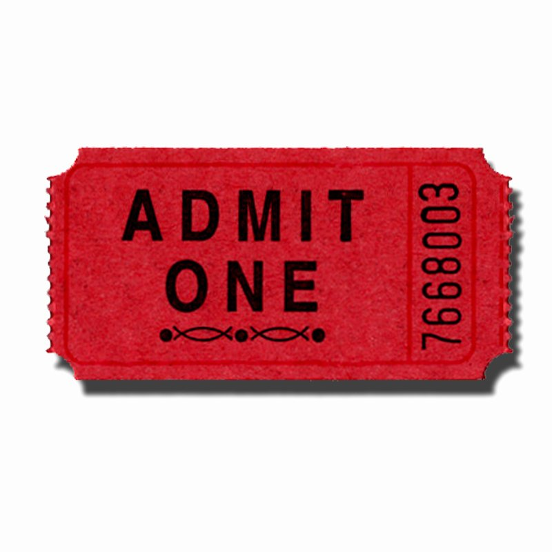 Admit One Ticket Template Awesome Admit E Ticket Clip Art Cliparts
