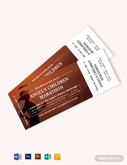 Admit One Ticket Template Beautiful Admit E event Ticket Template Download 319 Tickets In