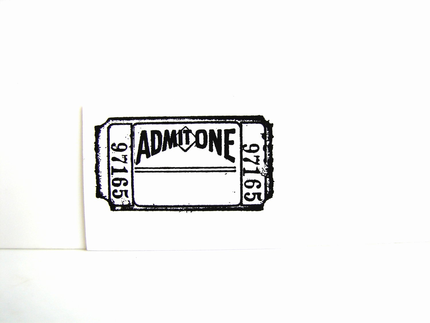 Admit One Ticket Template Fresh 25 Of Blank Admit E Template
