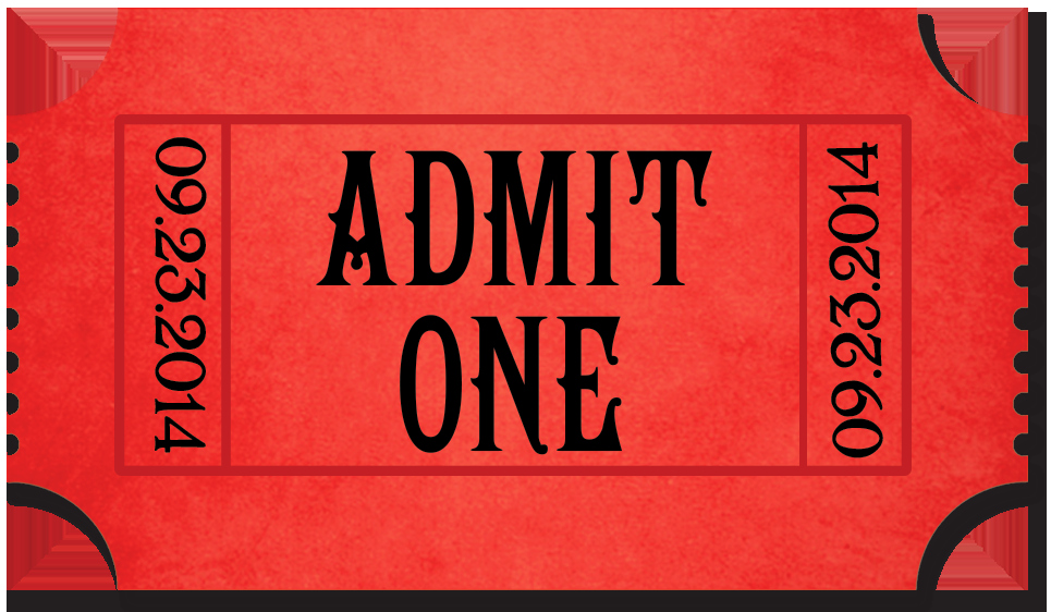 Admit One Ticket Template Luxury Movies – My Deal Diary