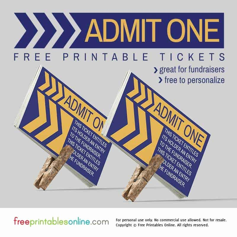 Admit One Ticket Template Luxury Retro Angular Admit E Fundraiser Ticket