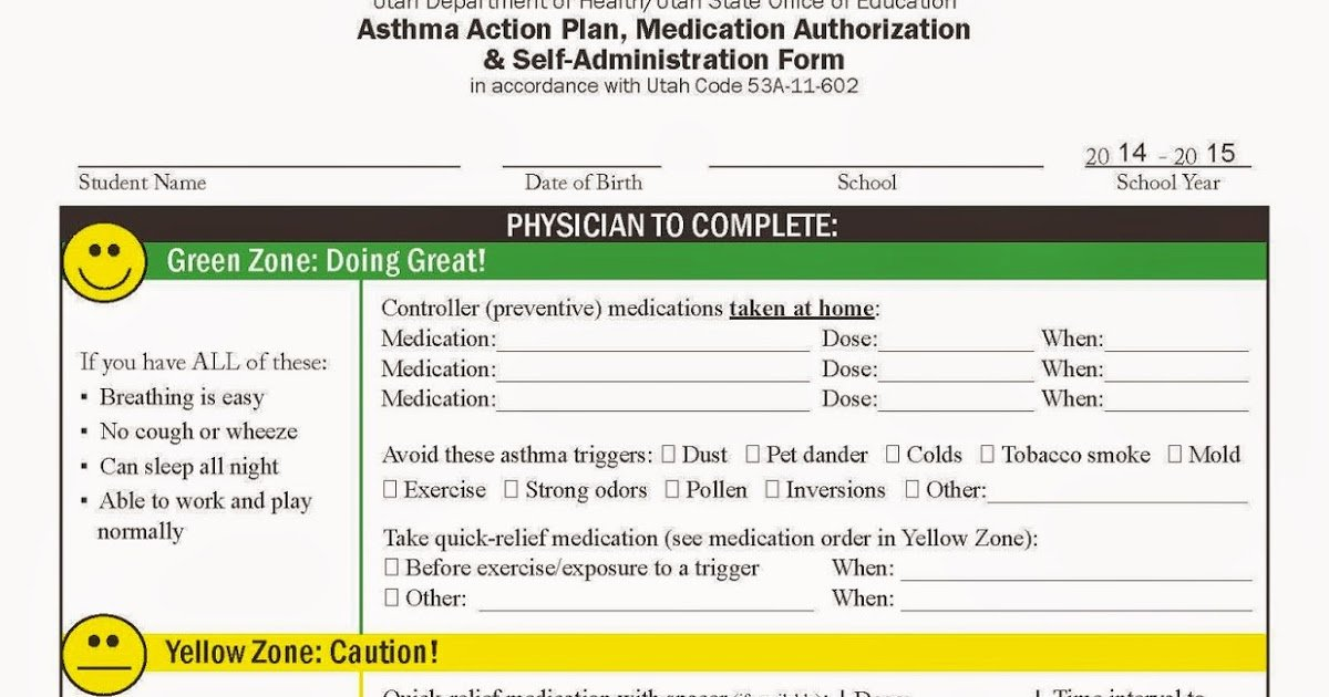 Asthma Action Plan form Beautiful My Life as An asthma Mom asthma Action Plans for School