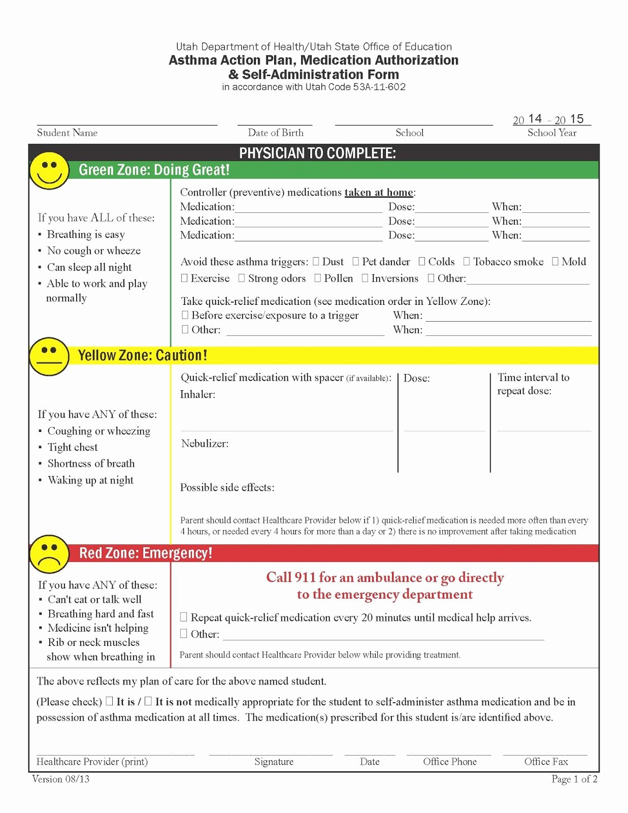 Asthma Action Plan form Beautiful My Life as An asthma Mom Prednisone Necessary Evil