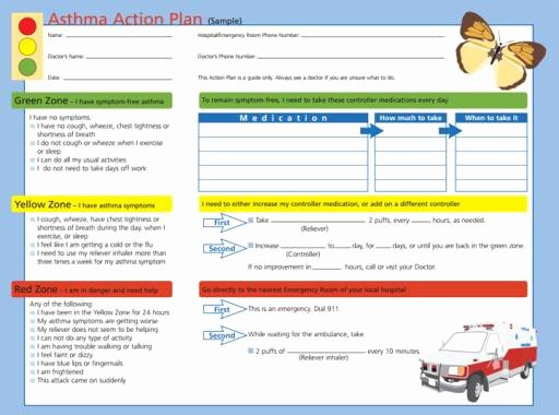 Asthma Action Plan form Inspirational why Doctors Say More asthma Patients Should Use An Action