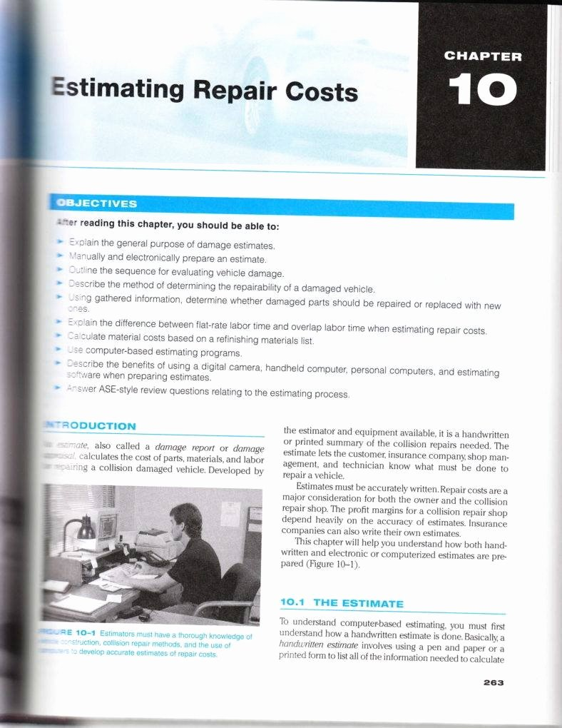 Auto Repair Estimate Template Best Of 6 Auto Repair Estimate Templates Pdf Word Docs