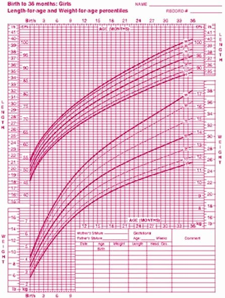Average Baby Weight Chart Awesome Average Weight Of 3 Year Old