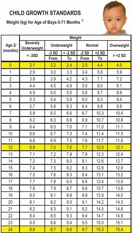 Average Baby Weight Chart Best Of Growth Charts for Babies