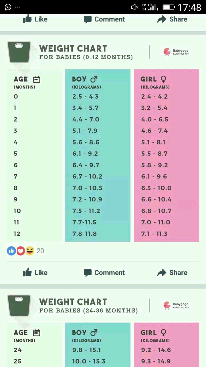 Average Baby Weight Chart Lovely My Baby is 8 Months Old and She Weighs Around 6 5kg is