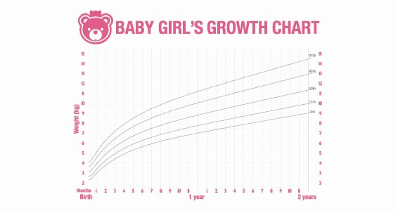 Baby Girl Growth Chart Best Of Dry Erase Baby Girl Growth Chart Decal