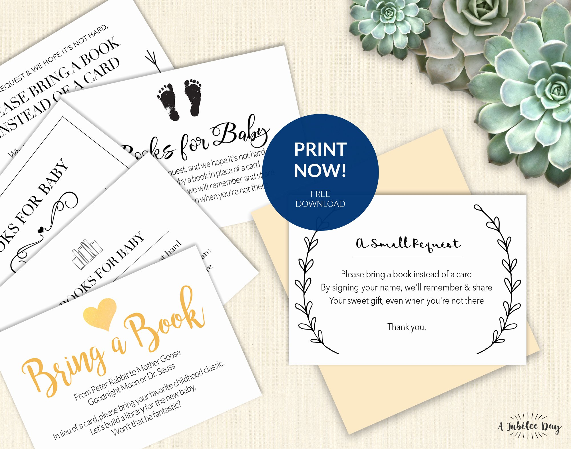 Baby Shower Card Printable Luxury Bring A Book Instead Of Card Free Printable A Jubilee Day