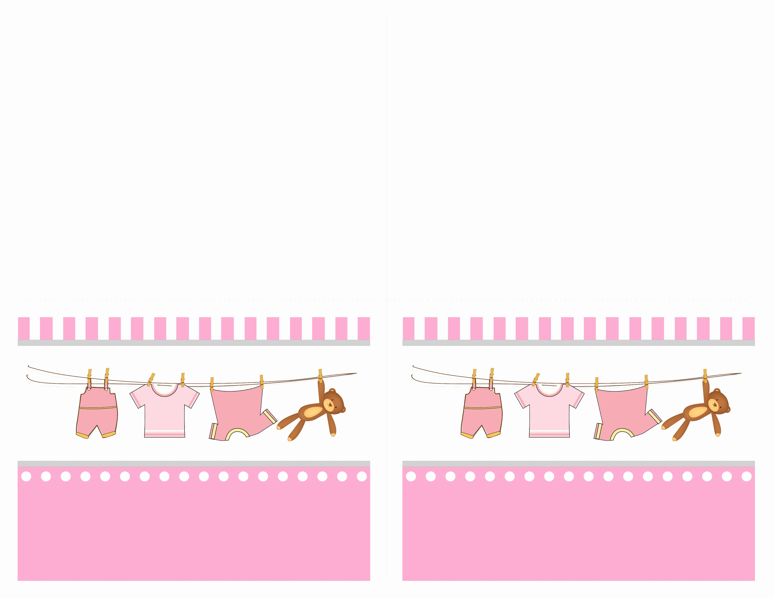 Baby Shower Card Printable Unique Baby Girl Shower Free Printables How to Nest for Less™