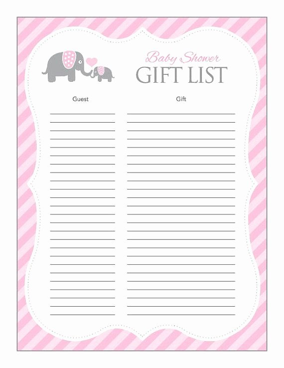 Baby Shower Gift Lists Awesome 24 Helpful Baby Shower Checklists