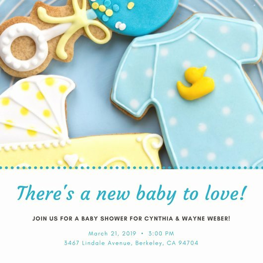 Baby Shower Invitations Templates Editable Inspirational Customize 832 Baby Shower Invitation Templates Online Canva