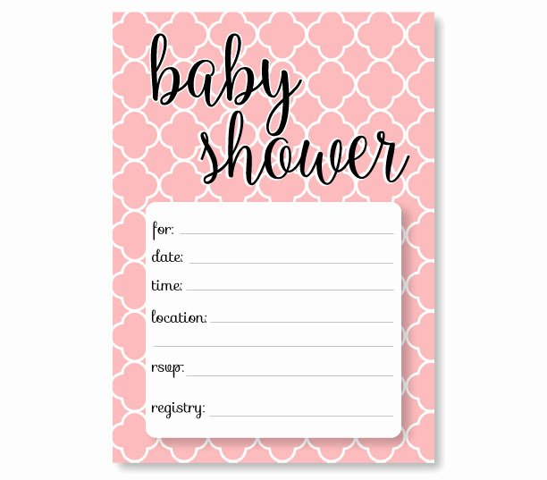 Baby Shower Invitations Templates Editable Inspirational Printable Baby Shower Invitation Templates Free Shower