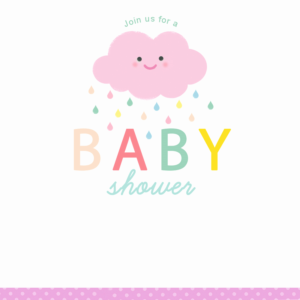 Baby Shower Invitations Templates Editable Luxury Shower Cloud Free Printable Baby Shower Invitation