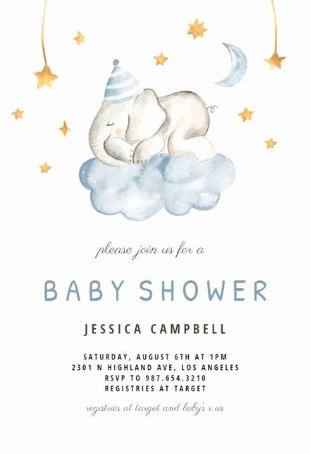 Baby Shower Invite Template Awesome Baby Shower Invitation Templates Free