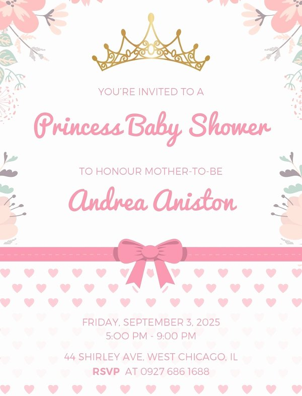 Baby Shower Invite Template Beautiful 14 Free Printable Baby Shower Invitations