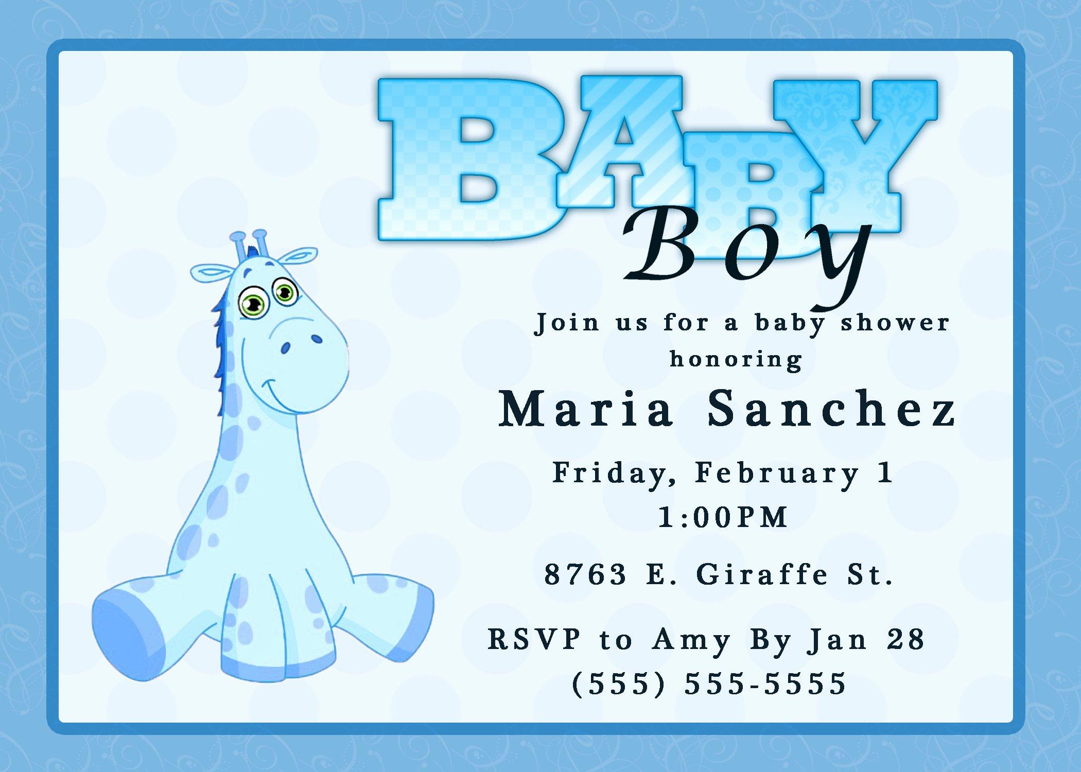Baby Shower Invite Template Beautiful Baby Shower Invitations