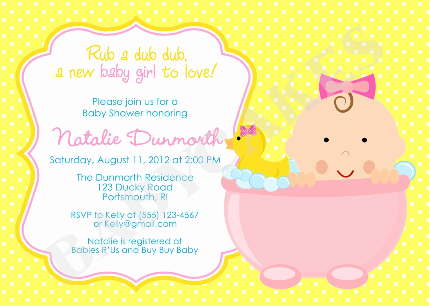 Baby Shower Invite Template Best Of Baby Shower Invite Ideas