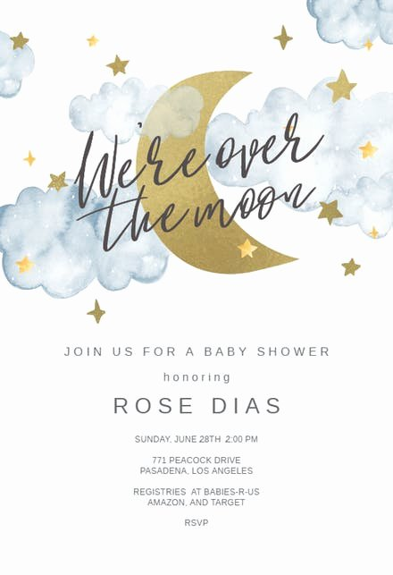 Baby Shower Invite Template Fresh Baby Shower Invitation Templates Free