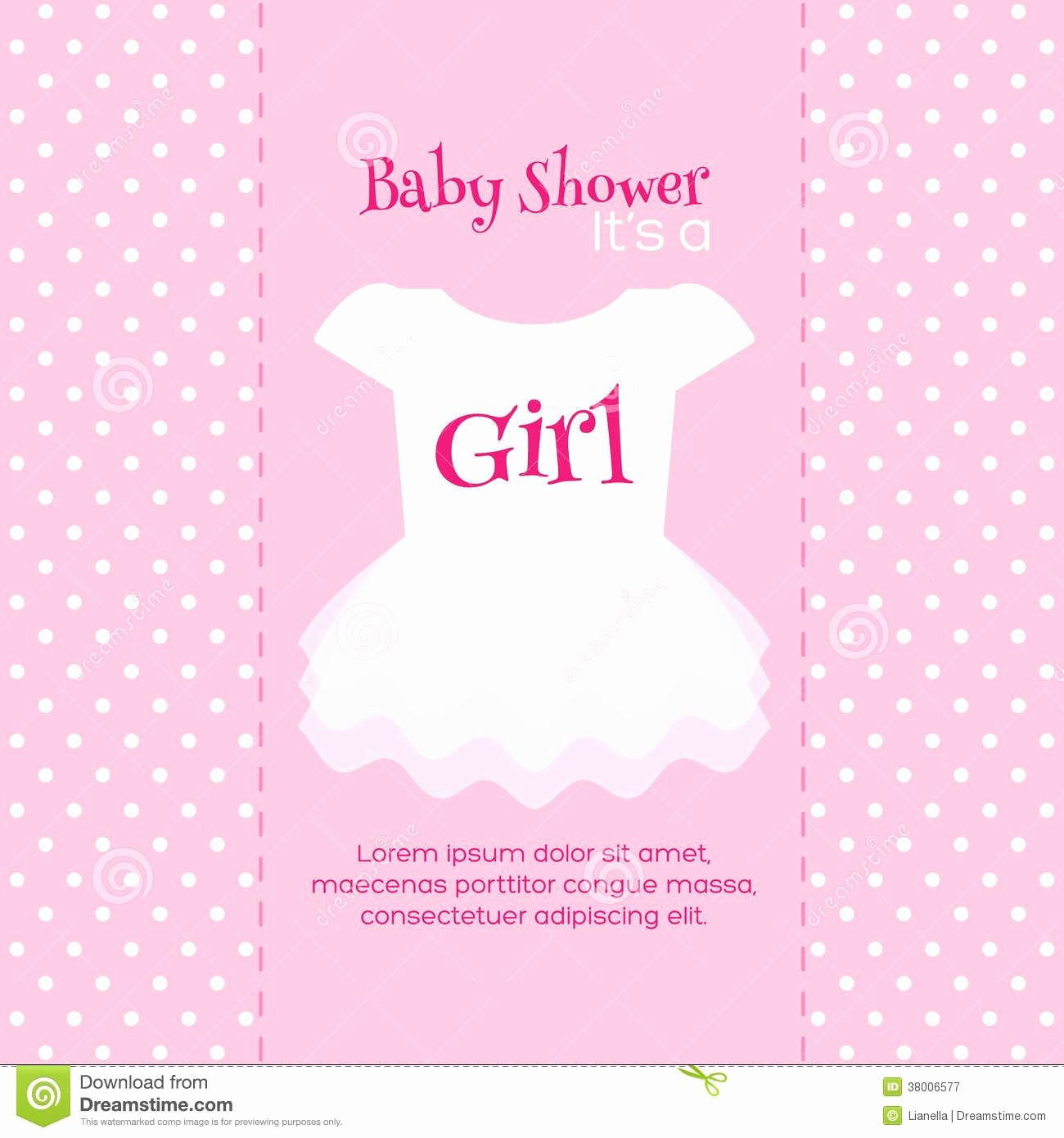 Baby Shower Invite Template Fresh Design Free Printable Baby Shower Invitations for Girls