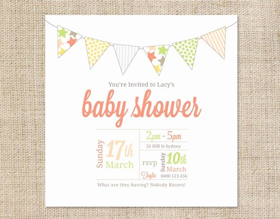Baby Shower Invite Template Lovely Unavailable Listing On Etsy