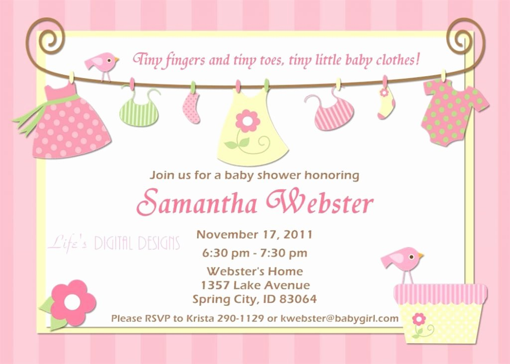 Baby Shower Invite Template New top 10 Baby Shower Invitations original for Boys and Girls