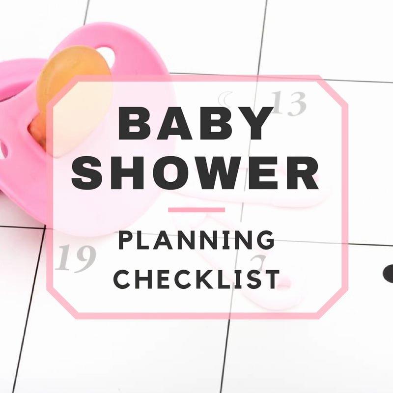 Baby Shower Planning Checklist Luxury Baby Shower Planning Checklist