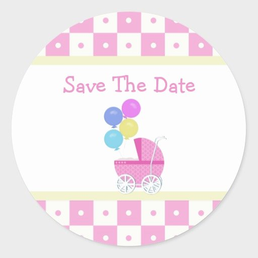 Baby Shower Save the Dates Beautiful Save the Date Baby Shower Stickers