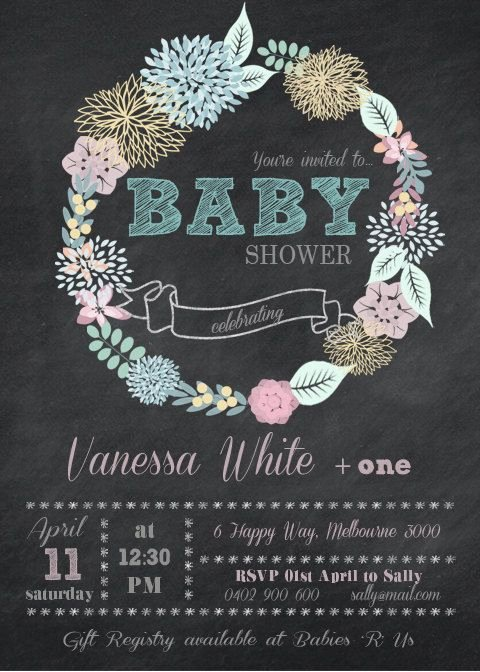 Baby Shower Save the Dates Fresh Baby Shower Diy Printable Invitation Save the Date by