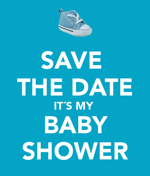 Baby Shower Save the Dates Lovely Save the Date It´s My Baby Shower Poster Lizbeth