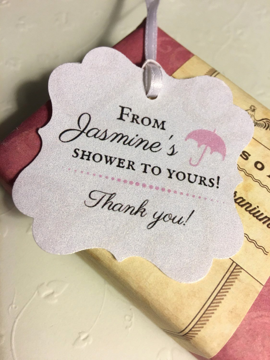 Baby Shower Thank You Tags Inspirational Thank You Favor Tags Baby Shower Bridal Shower