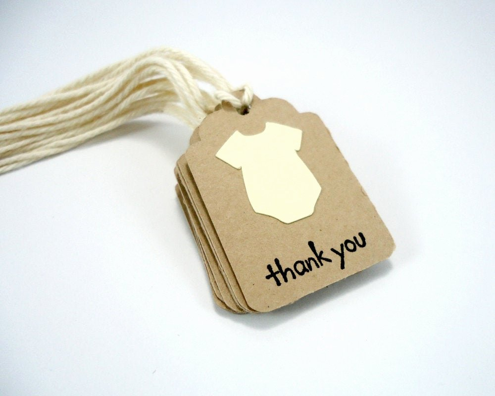 Baby Shower Thank You Tags Luxury Tiny Baby Shower Tags Yellow Small Thank You Tags Gender