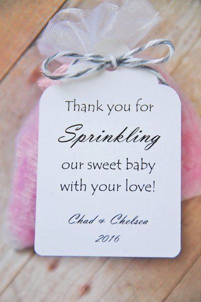 Baby Shower Thank You Tags New Best 25 Baby Shower Thank You Ideas On Pinterest