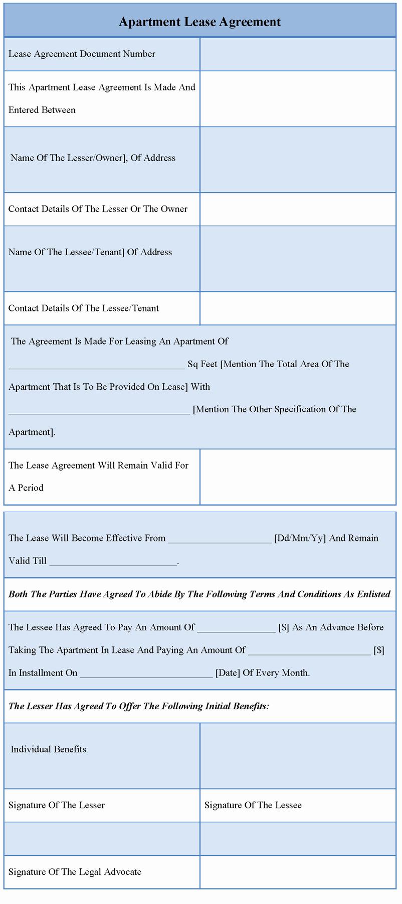 Basic Lease Agreement Template Elegant 30 Basic Editable Rental Agreement form Templates Thogati