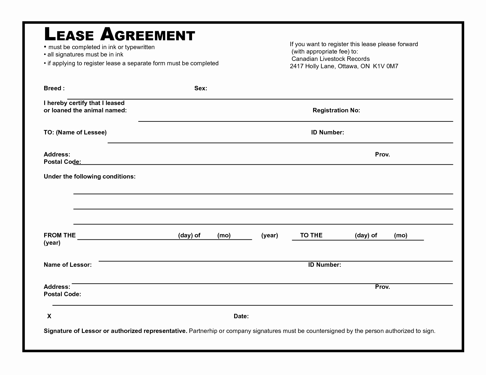 Basic Lease Agreement Template Fresh 39 Excellent Rental Lease and Agreement Template Examples