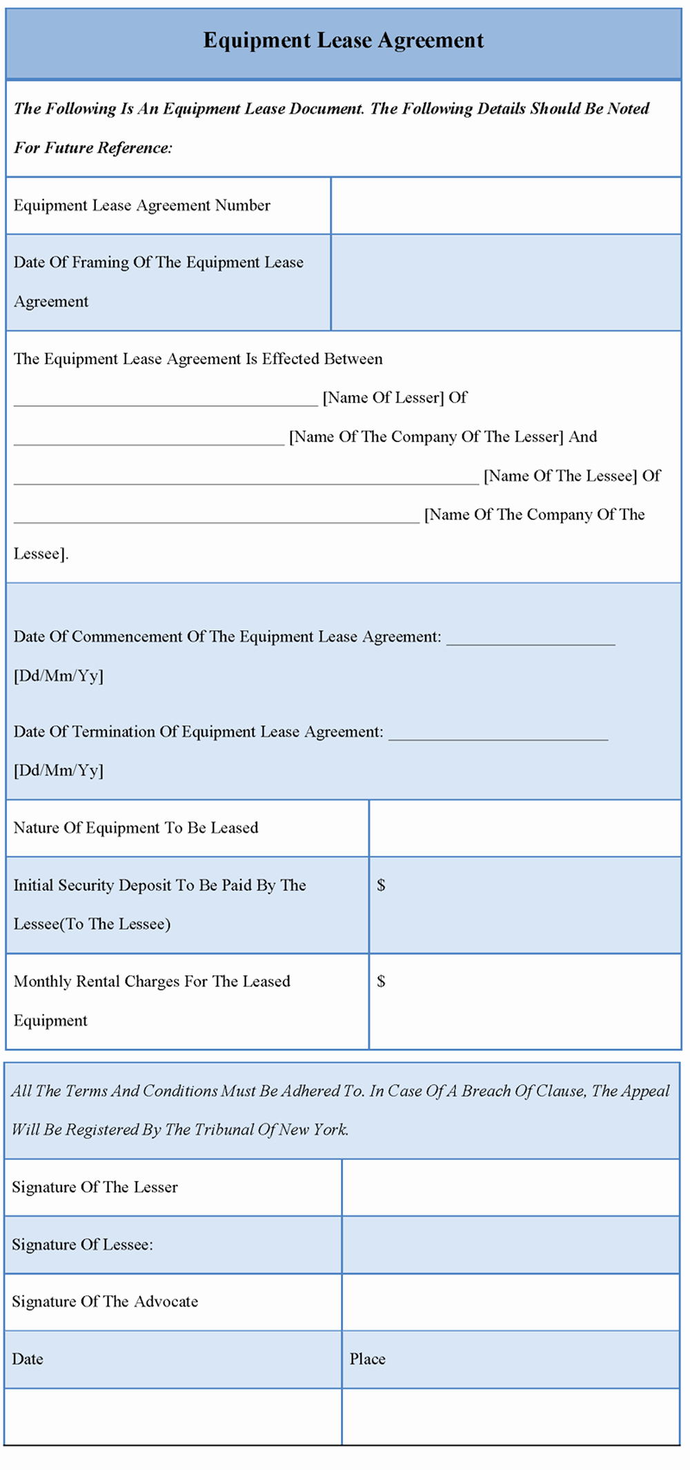 Basic Lease Agreement Template Lovely 30 Basic Editable Rental Agreement form Templates Thogati