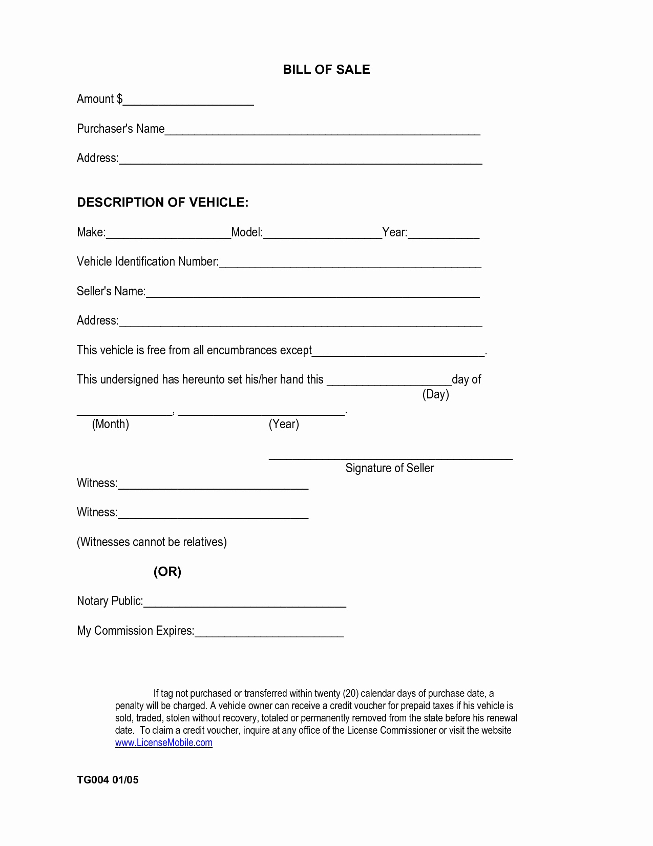 Bill Of Sale Car Template Best Of Free Printable Car Bill Of Sale form Generic